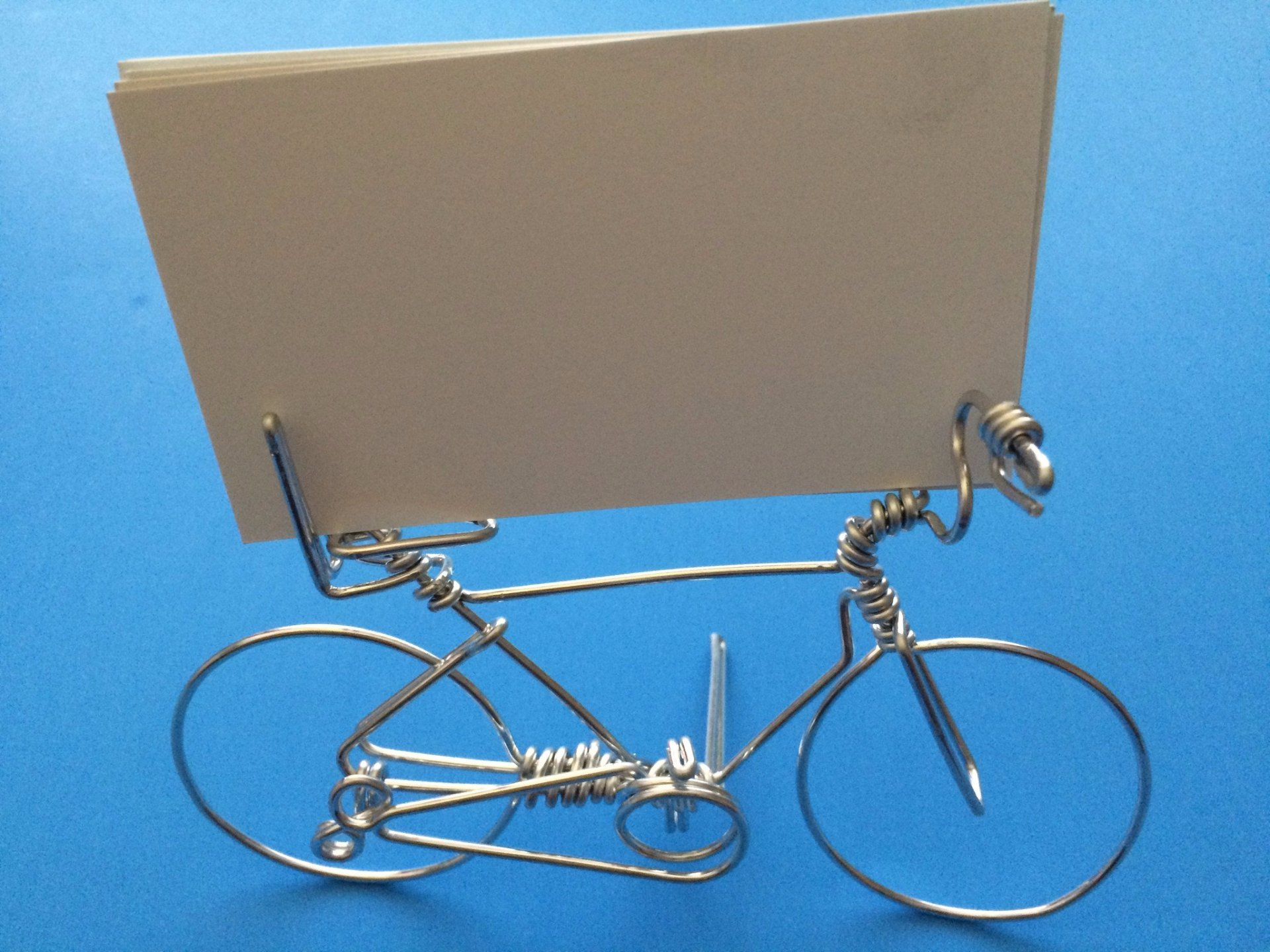 Best rated in card holders card files helpful customer reviews bike business card desk display holder hold 1 to deck of cards handmade bicycle reheart Choice Image