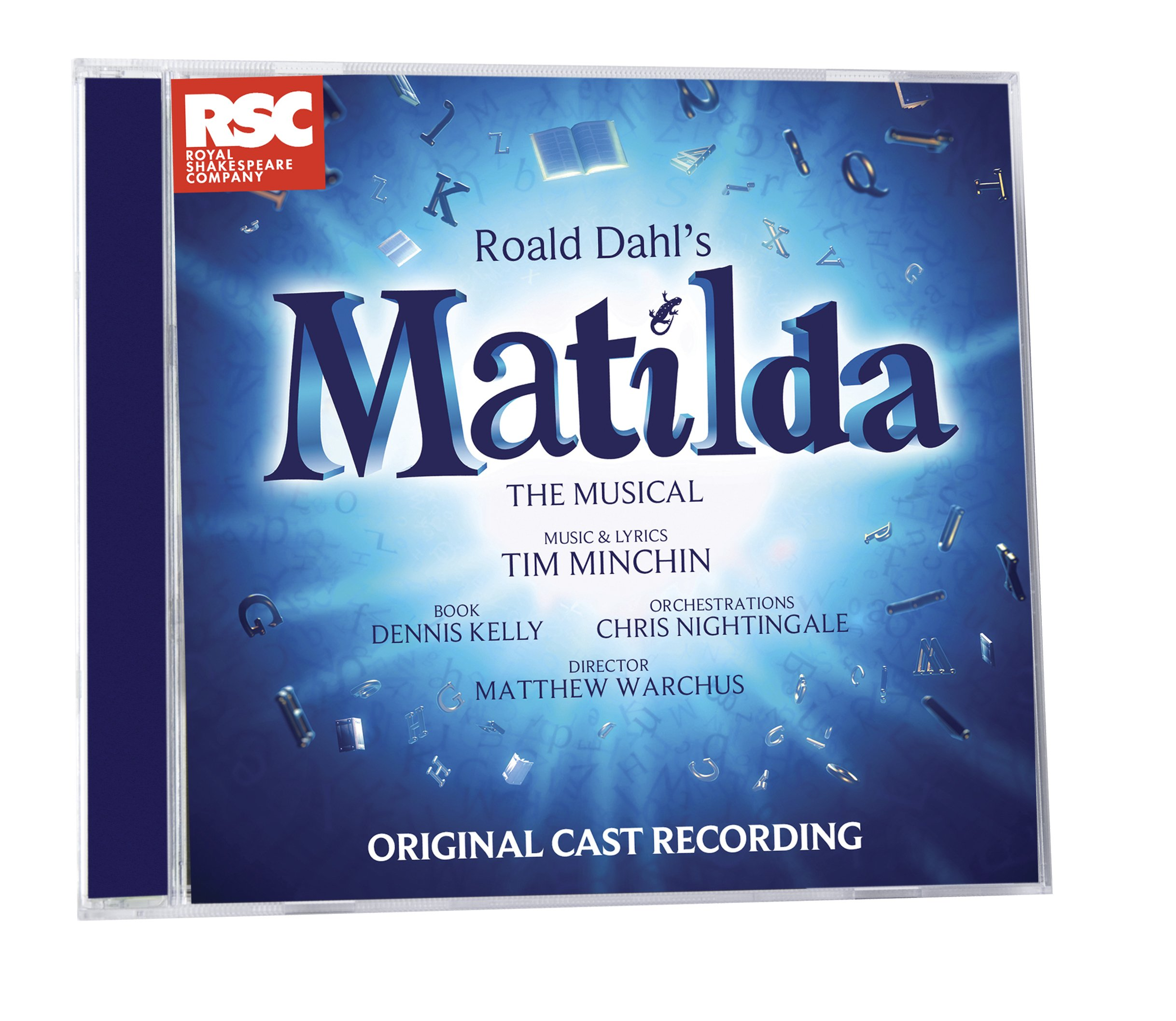 Matilda The Musical London Cast Recording by Royal Shakespeare Company