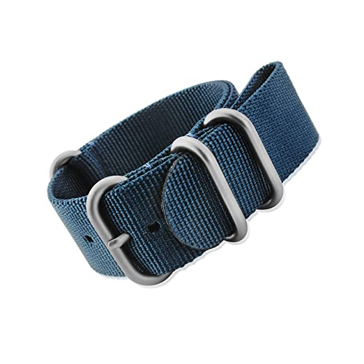 2 opinioni per mi-watch Zulu resistente nylon Divers, mod, orologio militare G10nato in nylon,