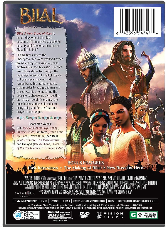 Amazon Com Bilal A New Breed Of Hero Ayman Jamal Khurram Alavi Cine Y Tv