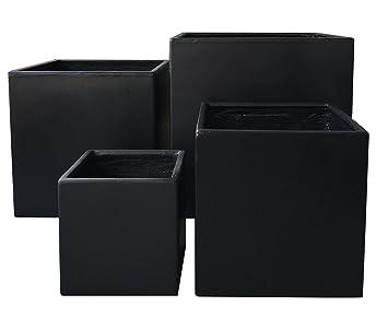 Turbo Premium Pflanzkübel Set - Lounge Cube von 7EVEN | Blumentopf eckig UY39