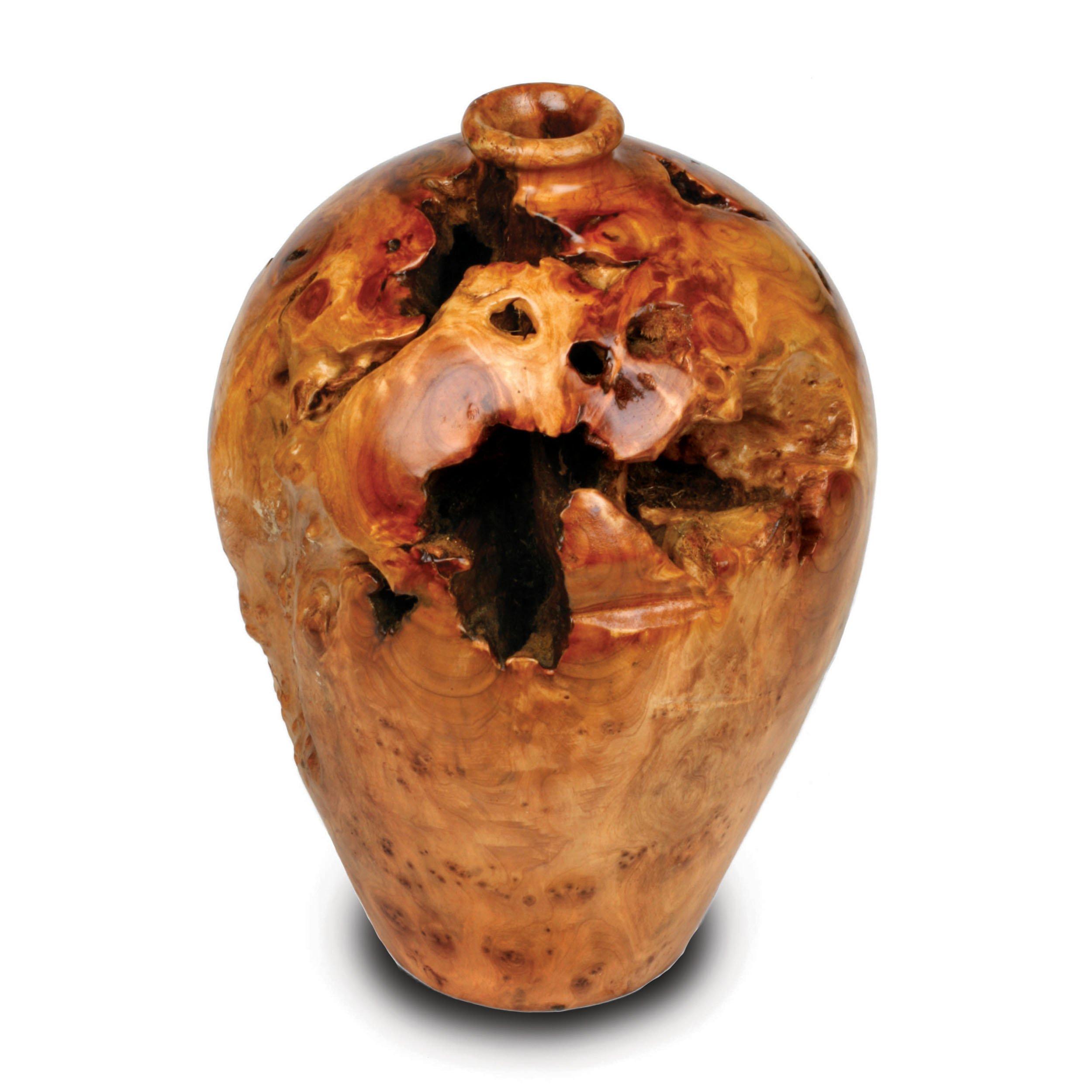 Enrico 2420 Root Wood Large Urn