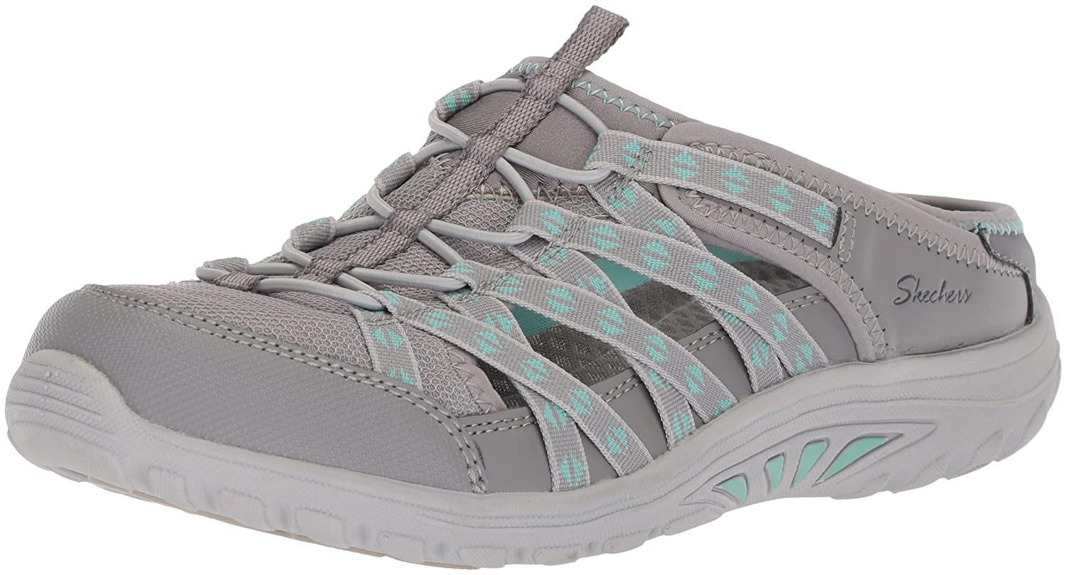 Skechers Damen Reggae Fest-Marlin Slip on Sneaker  355 EU|Grau (Grey)