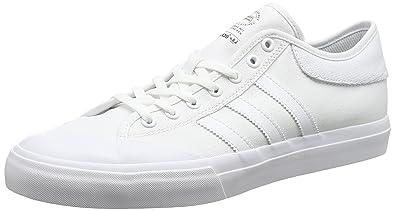 adidas Matchcourt, Chaussures de Skateboard Mixte Adulte, Blanc (Footwear White/Footwear White/Footwear White), 48 EU