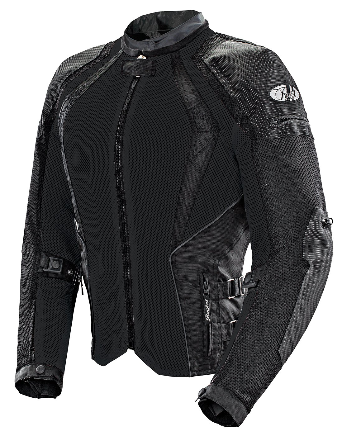 Joe Rocket Cleo Elite Women's Mesh Motorcycle Jacket (Black, 1 Diva)