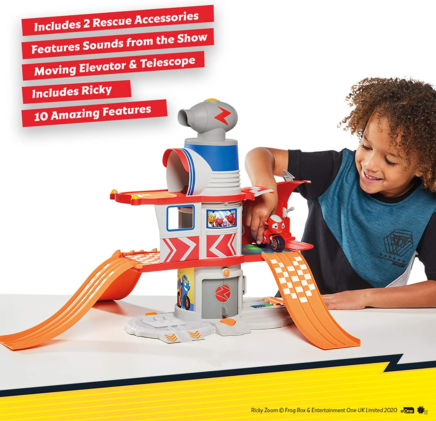 Ricky Zoom T20072A Rickys House Playset