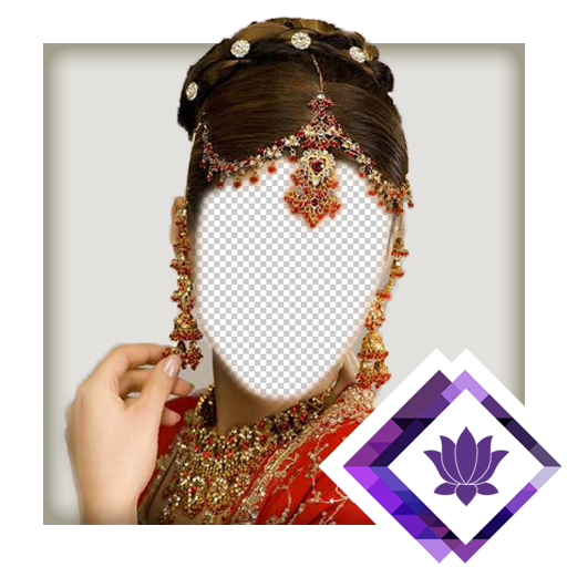 (Indian Bride Hairstyle Montage)