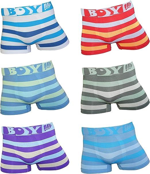 Dealzone 6 Pack Kids Joven Microfibra Boxer Pantalones Cortos ...