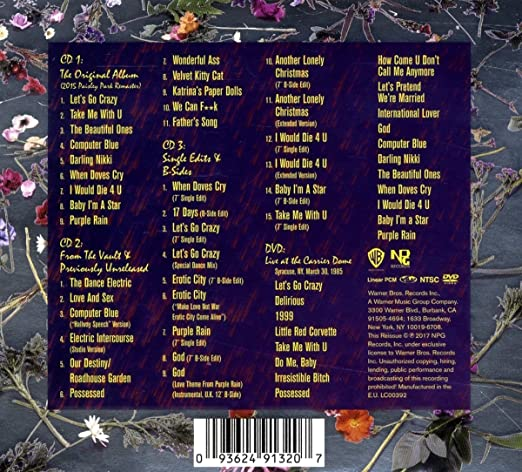 Prince - Purple Rain Deluxe (Expanded Edition)(3CD/1DVD) - Amazon