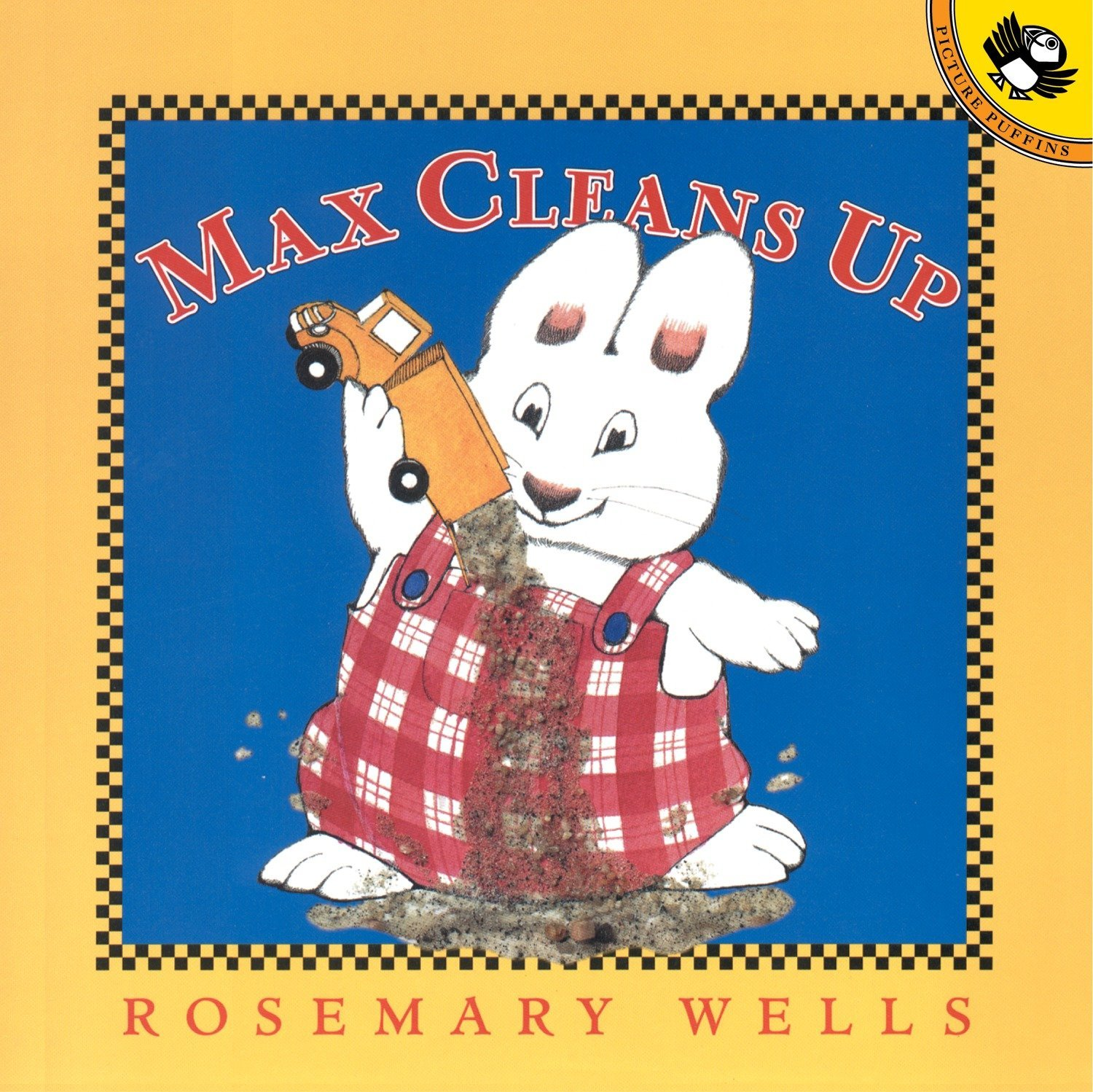 Max Cleans Up by Rosemary Wells