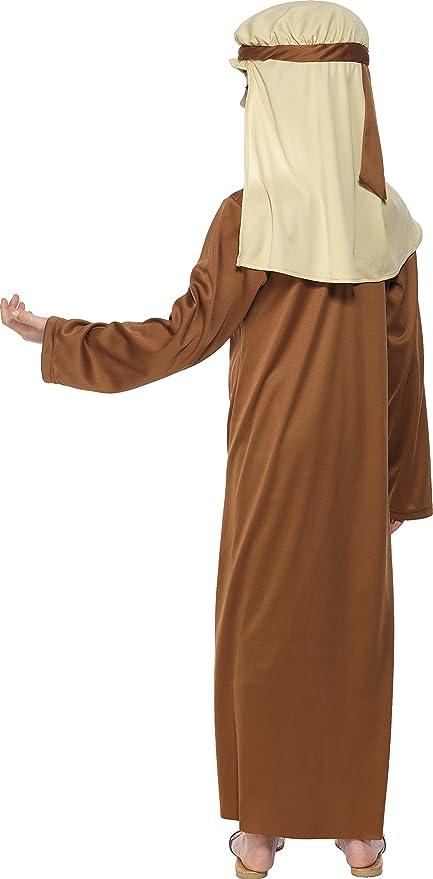Smiffys Disfraz de San José Marrón para niño