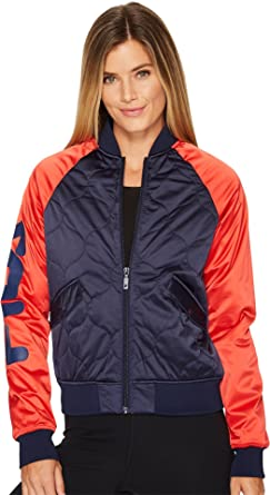 d89d01fd2e52 Fila Women s Petra Quilted Jacket at Amazon Women s Clothing store