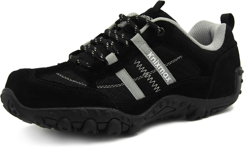 Knixmax Wanderschuhe Atmungsaktiv Trekking Schuhe Herren Damen Sport Outdoor Leichte Trekking-/& Wanderhalbschuhe Sneaker
