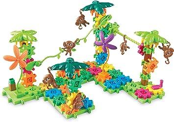 Learning Resources Monos en Movimiento Movin Monkeys Gears, Color (LER9119): Amazon.es: Juguetes y juegos