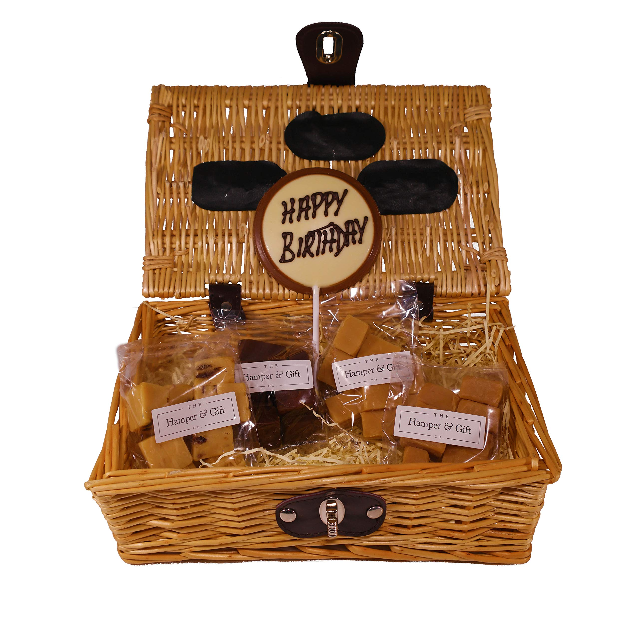 Happy Birthday Fudge Hamper Gift Basket Perfect Confectionery Present For Him Or Her Husband Or Wife Boyfriend Or Girlfriend Son Or Daughter Buy Online In Sri Lanka At Desertcart Productid 51754356