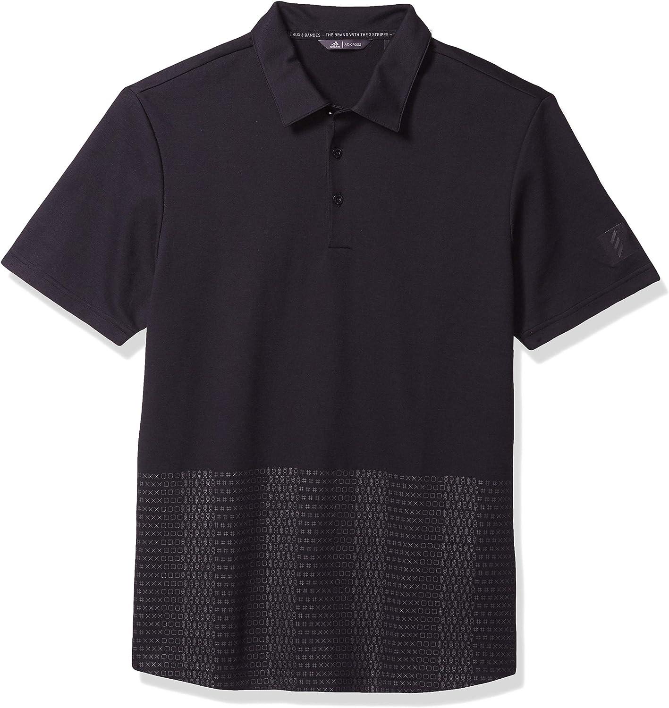 adidas Mens Adicross Novelty Print Polo Shirt