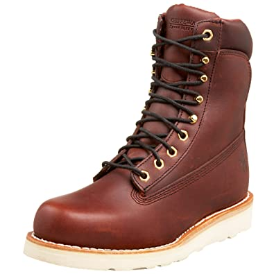 b0e52d11553 Chippewa Men s 72055 8 quot  Wedge Sole Wedge Sole Work Boot