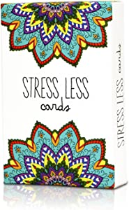 Stress Less Cards - 50 Mindfulness & Meditation Exercises - Helps Relieve Stress and Anxiety
