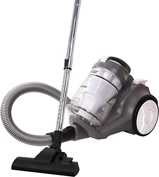 Russell Hobbs RHCV4001 Aspiradora con cilindro multi ciclón Titan, 800 W, 3 litros, blanco/gris: Amazon.es: Hogar