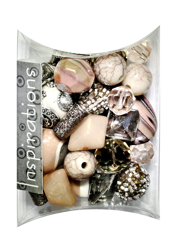 Jesse James Inspirations Beads 50 g-Vanilla metallo 5756