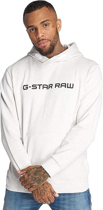 TALLA L. G-STAR RAW Loaq Hooded Sw L/S Capucha para Hombre