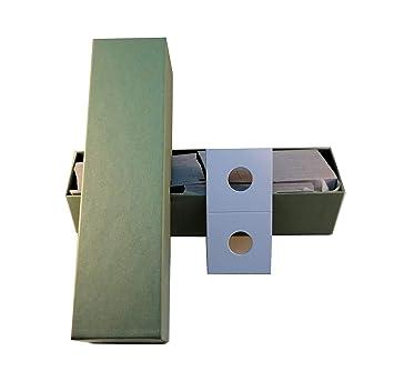 500 2x2 Small Dollar Mylar Cardboard Coin Holder Display Flip BCW Storage Case