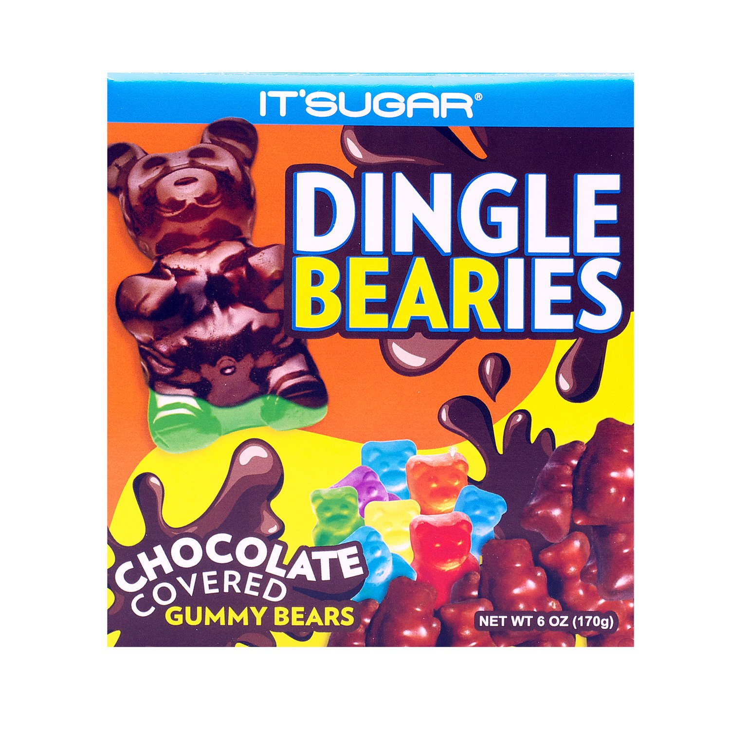 Amazon.com : IT'SUGAR Chocolate Covered Gummy Bears : Grocery ...