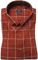 Arrow Men's Heritage Twill Shirt, Size 17-17 1/2-X-Large, Maple SP Heather
