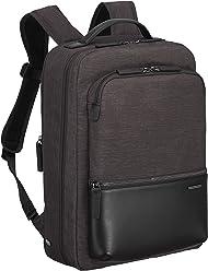 c664fa7d6 Zero Halliburton Lightweight Business-Small Backpack, Black, One Size
