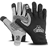 Bear Grips Workout Gloves, Full Finger Weight Lifting Gloves, Premium Gym Gloves for Men & Women, Padded Palms with Touch Scr