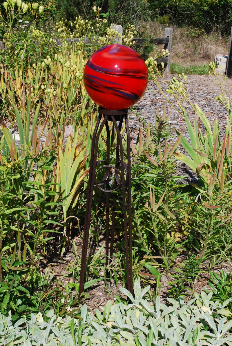 Echo Valley 4059 Three Ringed Gazing Globe Stand for 10''-12'' Globes