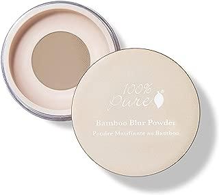 product image for 100% PURE Bamboo Blur Powder, Tan, Setting Powder, Loose Face Powder for Setting Makeup, Lightweight, Long Lasting Face Makeup, Vegan Makeup (Tan Shade w/Warm Undertones) - 0.2 Oz