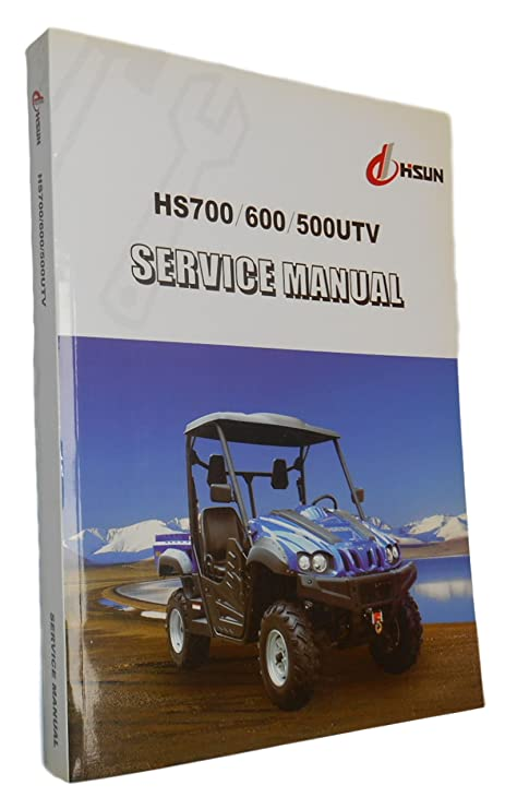 Amazon com : Manual, Service Manual, Paper, Book, HiSun, UTV