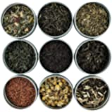 Heavenly Tea Leaves Tea Sampler (Loose Leaf Tea Sampler Gift Set, 9 Count)