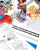 Colorful Quilts Adult Coloring Book - Features 50