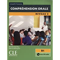 COLLECTION COMPETENCES COMPREHENSION ORALE NIVEAU2 B1 + CD AUDIO