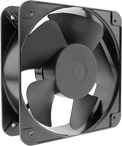 BeMatik VL058 Ventilateur de ch/âssis 200 x 200 x 60 mm 220 VAC