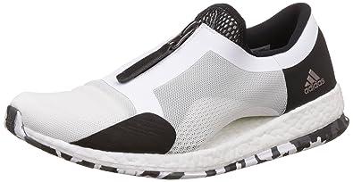 adidas Damen Pureboost X Tr Zip Laufschuhe Elfenbein (Ftwbla/Negbas/Grpudg) 40 EU