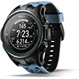 Epson ProSense 307 GPS Multisport Watch with Heart Rate and EasyView Display - Blue