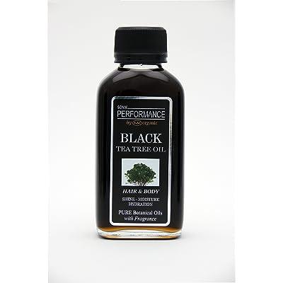 100% puro aceite de árbol de té, Jamaica negro Castor 4oz–con fragancia–por Sonik rendimiento | P + 50orgánico–para cara, cabello, cuerpo y clav