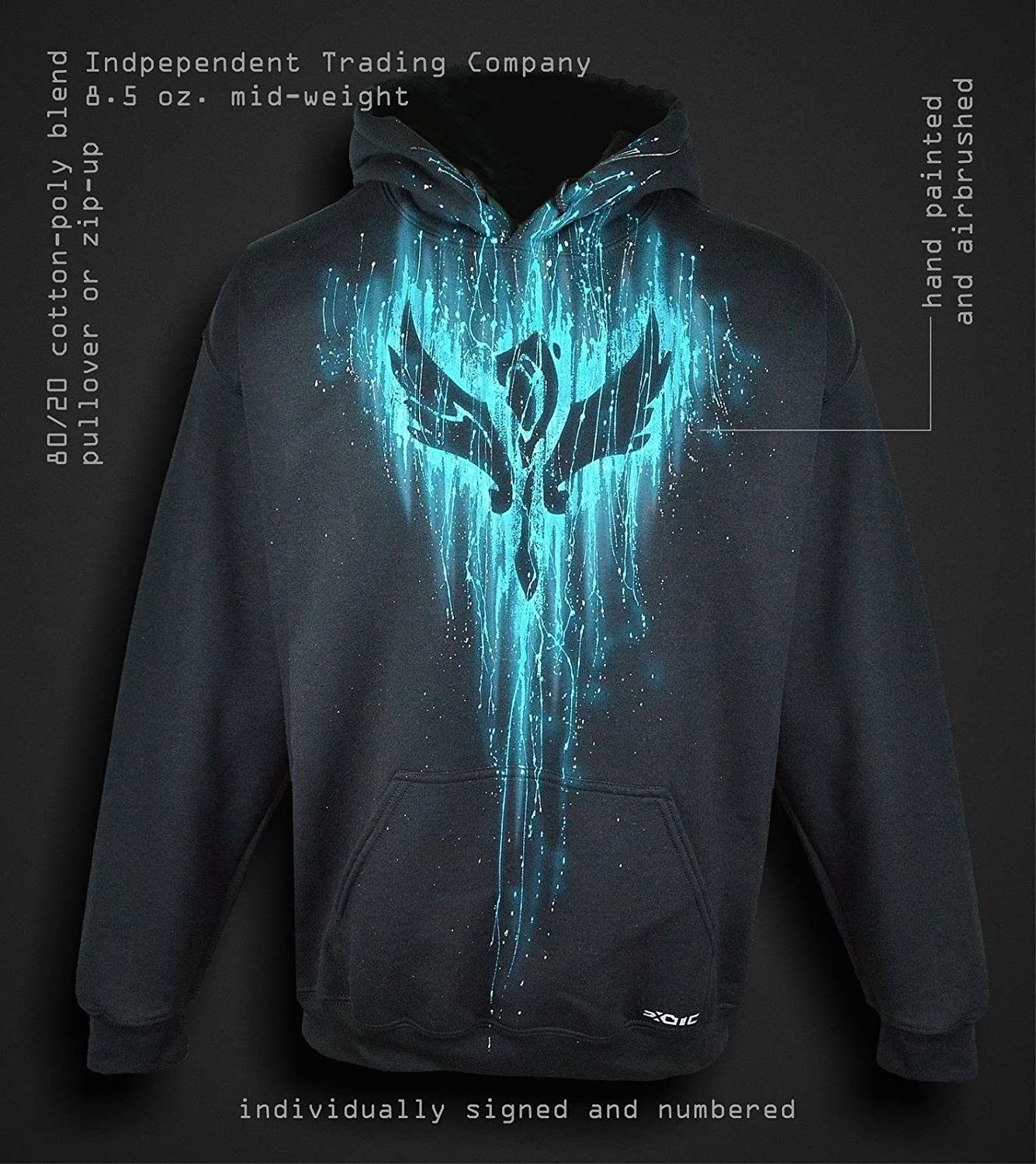 32fbe8b627ea Amazon.com  Sid Vicious League of Legends Hoodie Support Jacket for Men Custom  Airbrushed  Clothing
