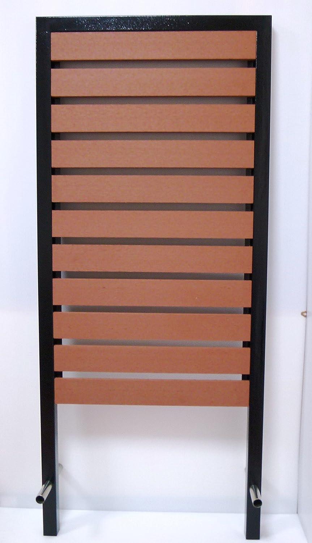 郵便ポスト郵便受け北欧ールボックス壁掛けポスト汎用ブラウン色WPC埋立式万能スタンドpm18s B071FBVMW8 17880