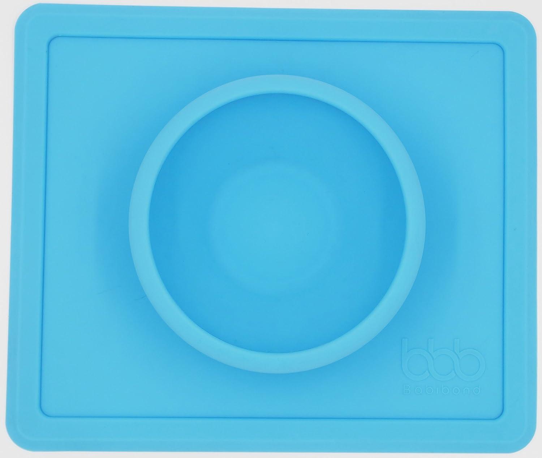 低価格で大人気の babibond – 一体型 シリコンBabyプレースマットwithボウル ブルー – – ノンスリップ – 再利用可能な – 一体型 ゴールド 43224-18873 ブルー B076553SV8, 陸前高田市:a0ff3914 --- a0267596.xsph.ru