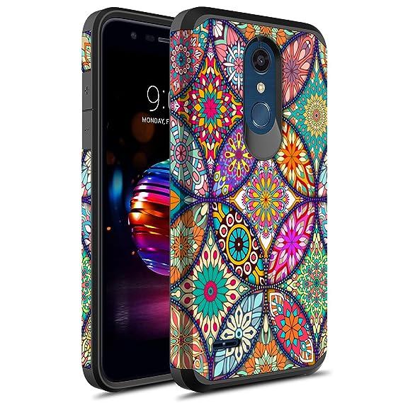 innovative design 195f8 e9883 LG K30 Case, LG Premier Pro LTE Case, LG Harmony 2 Case, LG Phoenix Plus  Case, Rosebono Slim Hybrid Dual Layer Shockproof Graphic Cover Armor Case  for ...