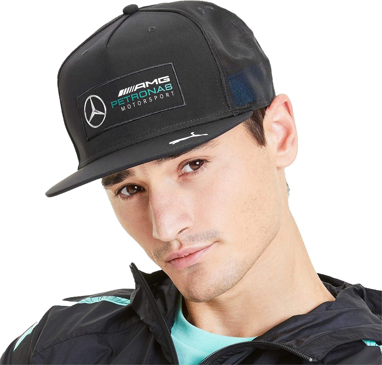 PUMA Mercedes AMG Petronas Motorsport Silver Arrows Mesh Back Adjustable Snapback Hat