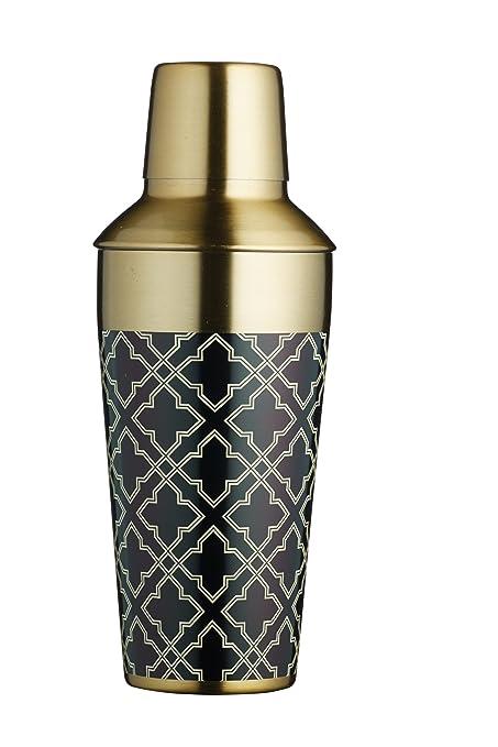 5 opinioni per Barcraft metal cocktail shaker, 650ml (22FL oz)–Finitura ottone