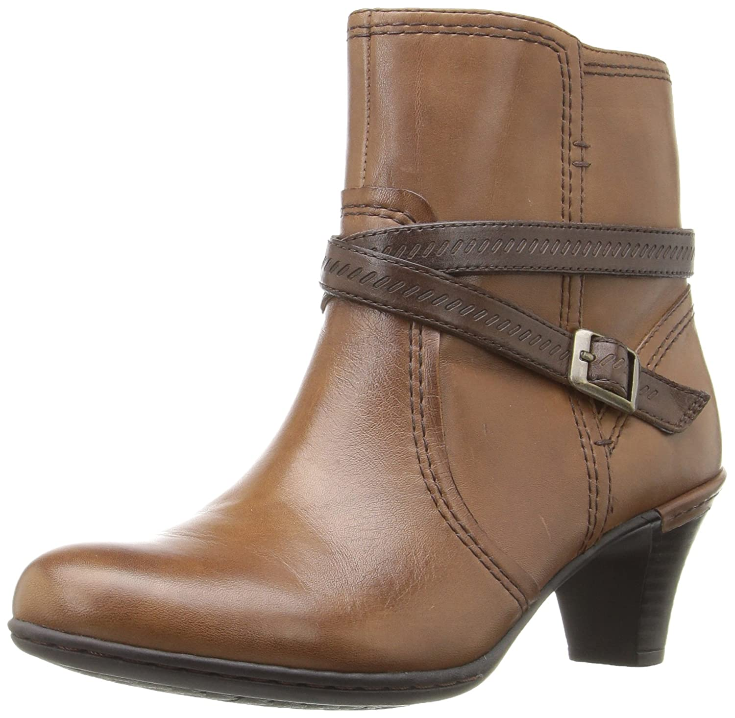 Rockport Women's Cobb Hill Missy Boot B01AK6414E 7.5 W US|Almond