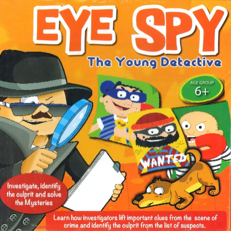 PMS EYE SPY YOUNG DETECTIVE SPY KIT IN PRTD BOX FINGER PRINT 553003