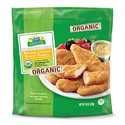 Perdue Harvestland, Organic Chicken Breast Tenders, Breaded ...