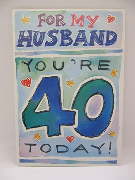 hallmark funny so thats what it looks like husband 40th birthday greeting card
